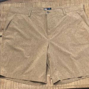 2 for $20 | Lightweight stretchy khaki shorts
